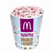 Макфлури клубника-шоколад
