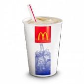 Молочный коктейль клубничный (большой)