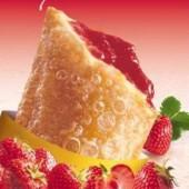 Горячий пирожок вкус сезона (клубника)